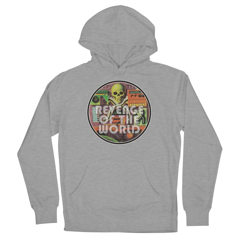 ROTW Console Women's French Terry Pullover Hoody by Gabriel Dieter's Artist Shop