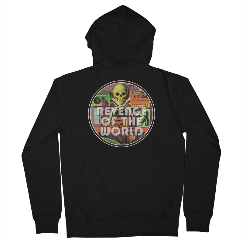 ROTW Console Women's French Terry Zip-Up Hoody by Gabriel Dieter's Artist Shop