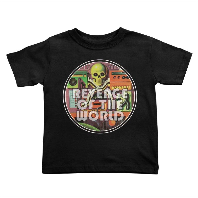 ROTW Console Kids Toddler T-Shirt by Gabriel Dieter's Artist Shop