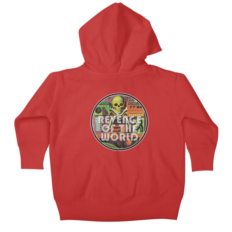 ROTW Console Kids Baby Zip-Up Hoody by Gabriel Dieter's Artist Shop