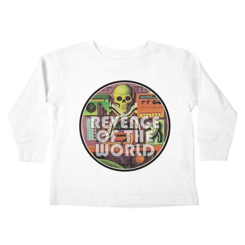 ROTW Console Kids Toddler Longsleeve T-Shirt by Gabriel Dieter's Artist Shop