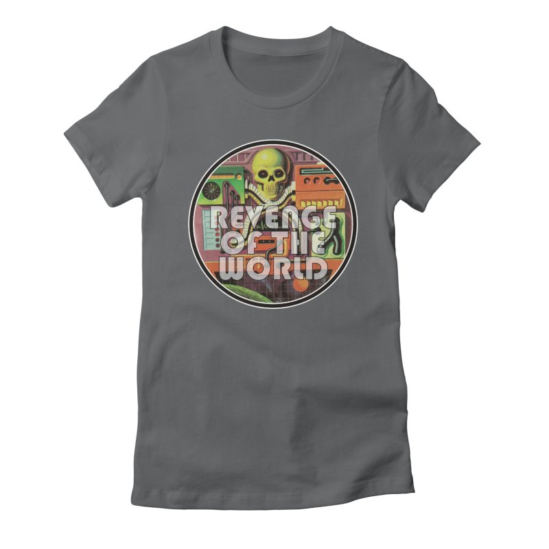 ROTW Console Women's Fitted T-Shirt by Gabriel Dieter's Artist Shop