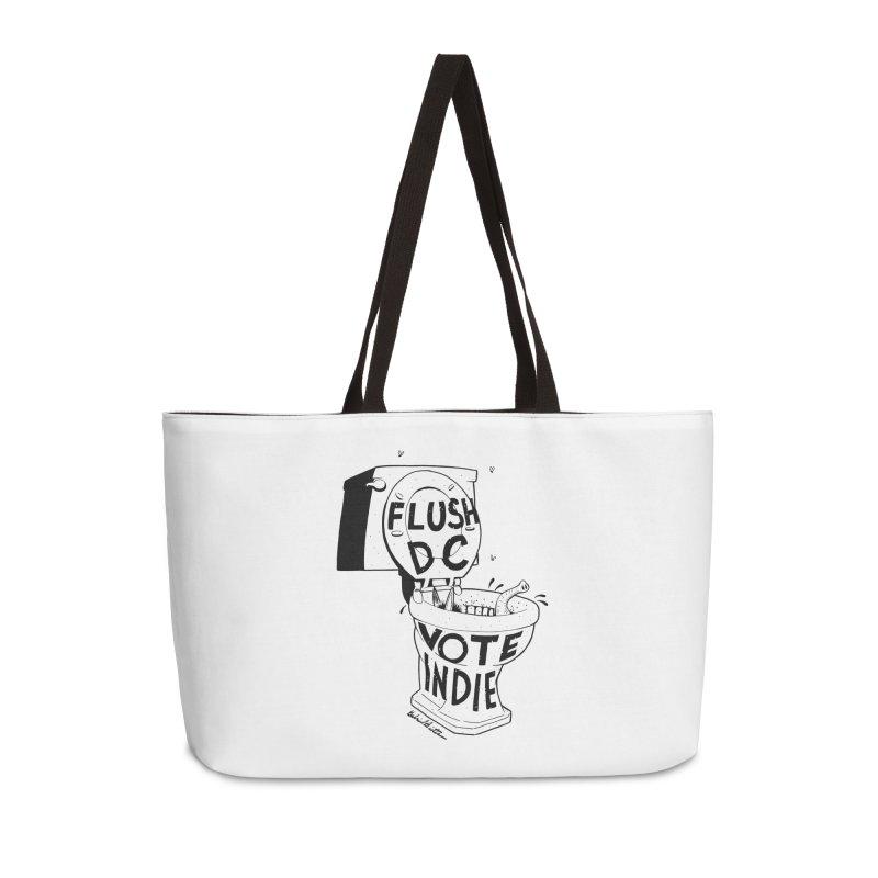 VOTE INDIE Accessories Weekender Bag Bag by Gabriel Dieter's Artist Shop