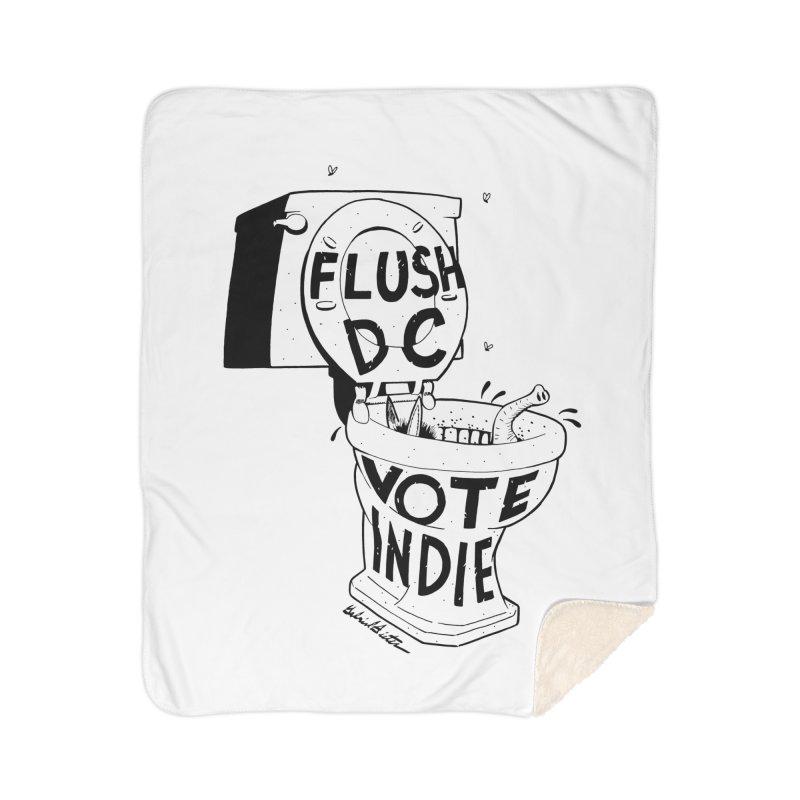 VOTE INDIE Home Sherpa Blanket Blanket by Gabriel Dieter's Artist Shop