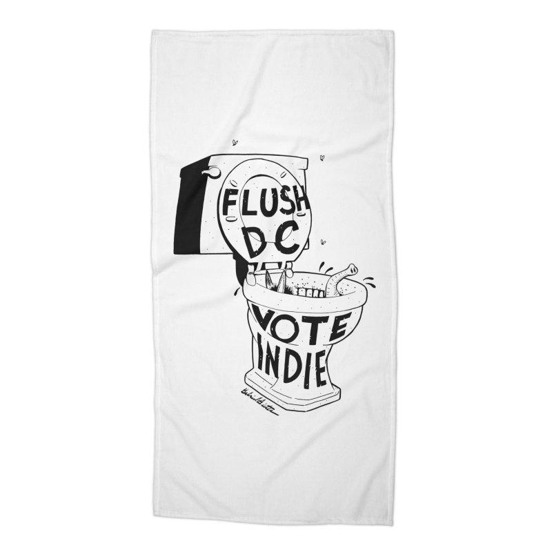 VOTE INDIE Accessories Beach Towel by Gabriel Dieter's Artist Shop