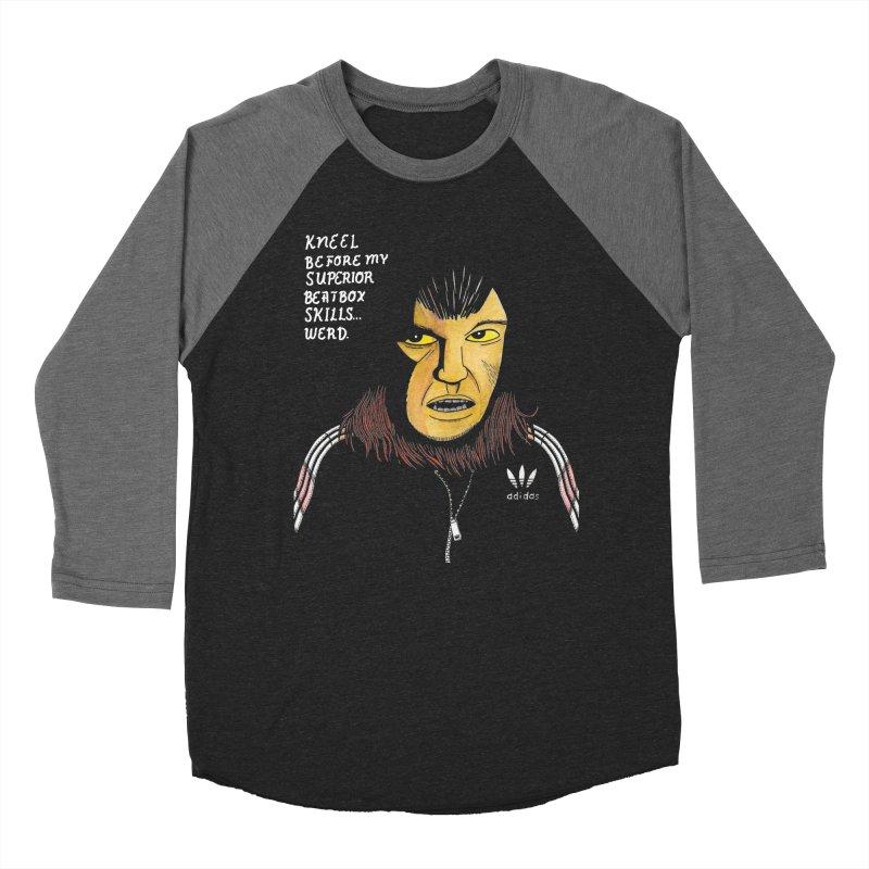 I can not be denied! Women's Baseball Triblend Longsleeve T-Shirt by Gabriel Dieter's Artist Shop