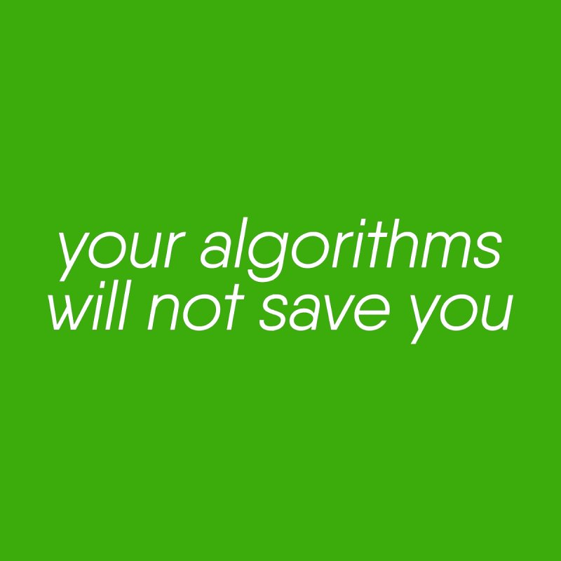Your Algorithms Will Not Save You by The Revision Path Store