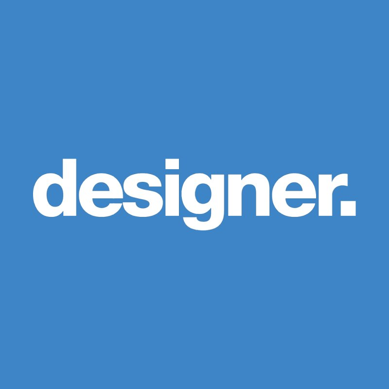 Designer (Bold) None  by The Revision Path Store