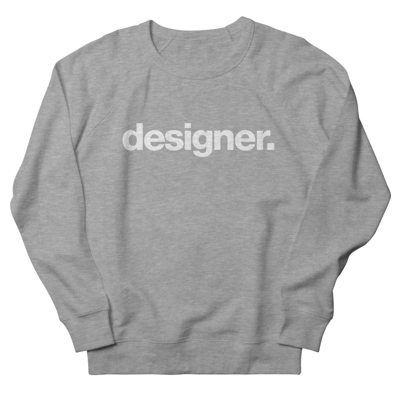 Designer (Bold) Men's Sweatshirt by Revision Path Store