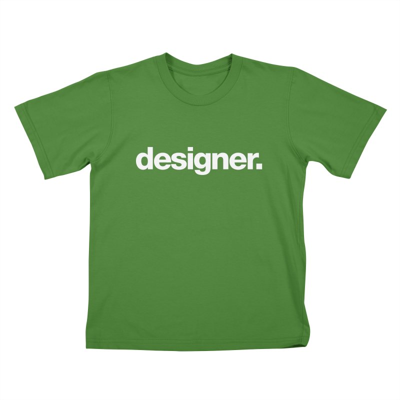 Designer (Bold) Kids T-shirt by The Revision Path Store