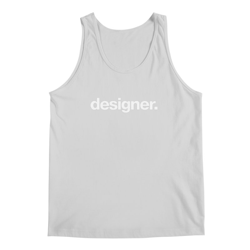 Designer (Bold) Men's Tank by The Revision Path Store