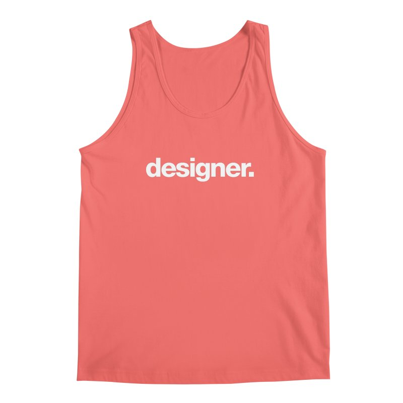 Designer (Bold) Men's Tank by Revision Path Store