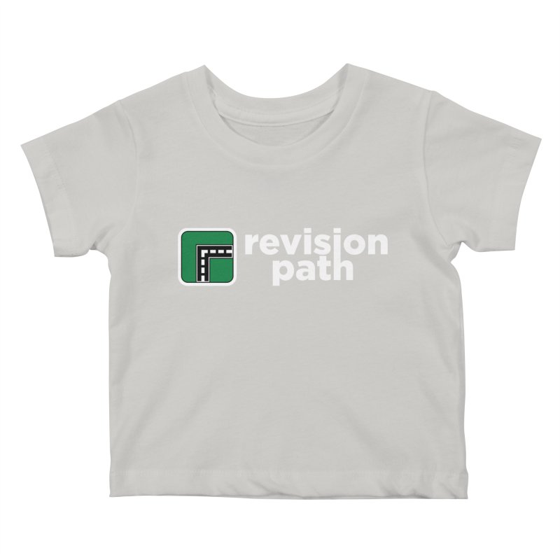 Revision Path Logo Kids Baby T-Shirt by The Revision Path Store