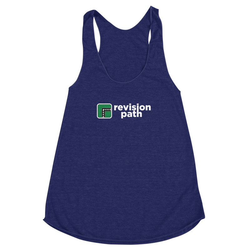 Revision Path Logo Women's Racerback Triblend Tank by Revision Path Store