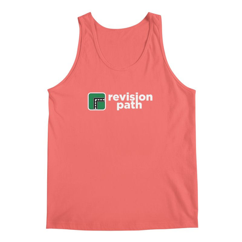 Revision Path Logo Men's Tank by The Revision Path Store