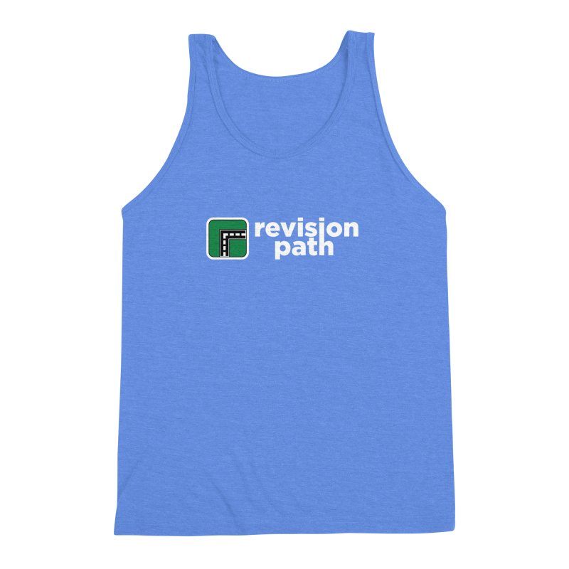 Revision Path Logo Men's Triblend Tank by Revision Path Store