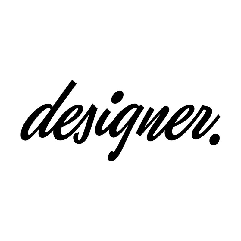 Designer (Script) Mug by The Revision Path Store