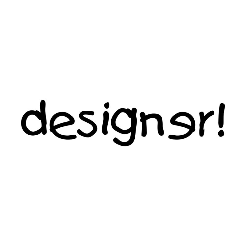 Designer (Kids) Mug by The Revision Path Store