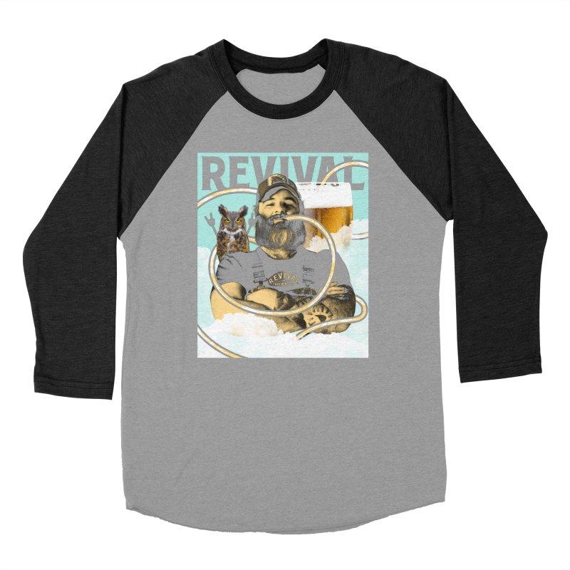 Samwise Men's Baseball Triblend Longsleeve T-Shirt by Revival Brewing