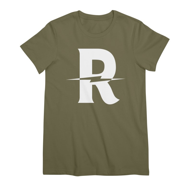 Revival Bright Bolt Women's Premium T-Shirt by Revival Brewing