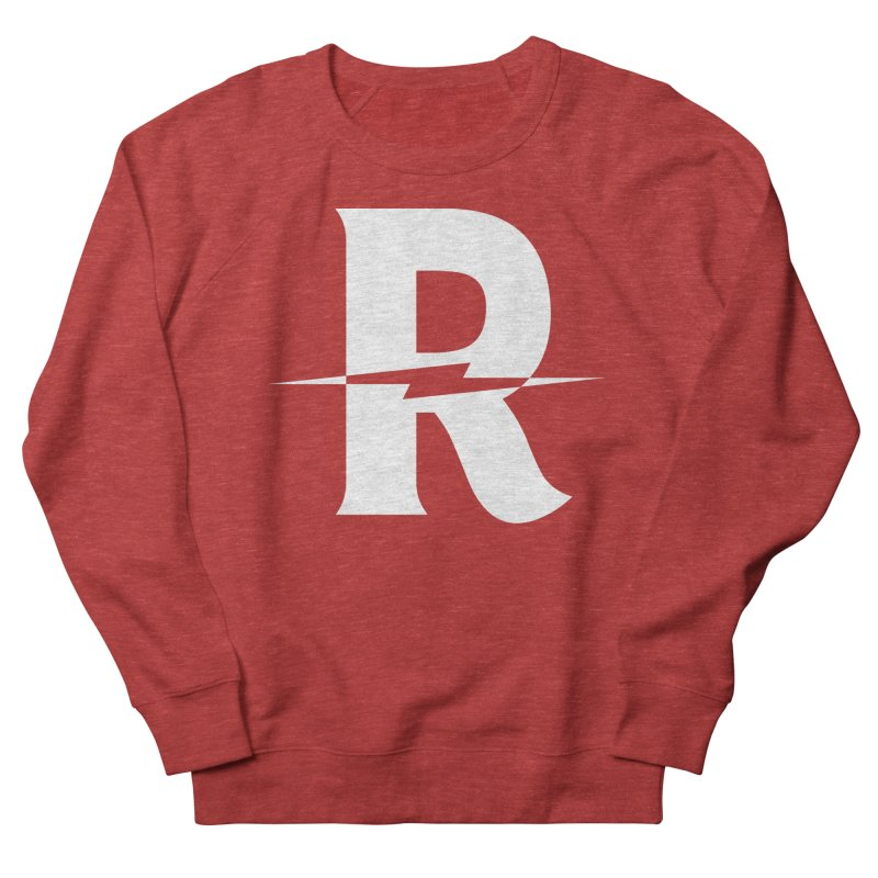 Revival Bright Bolt Men's French Terry Sweatshirt by Revival Brewing