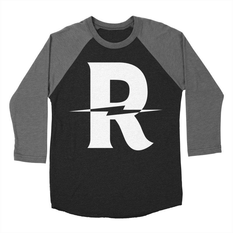 Revival Bright Bolt Men's Baseball Triblend Longsleeve T-Shirt by Revival Brewing