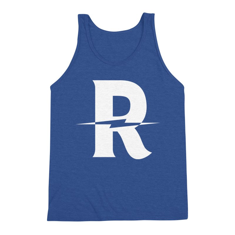Revival Bright Bolt Men's Triblend Tank by Revival Brewing