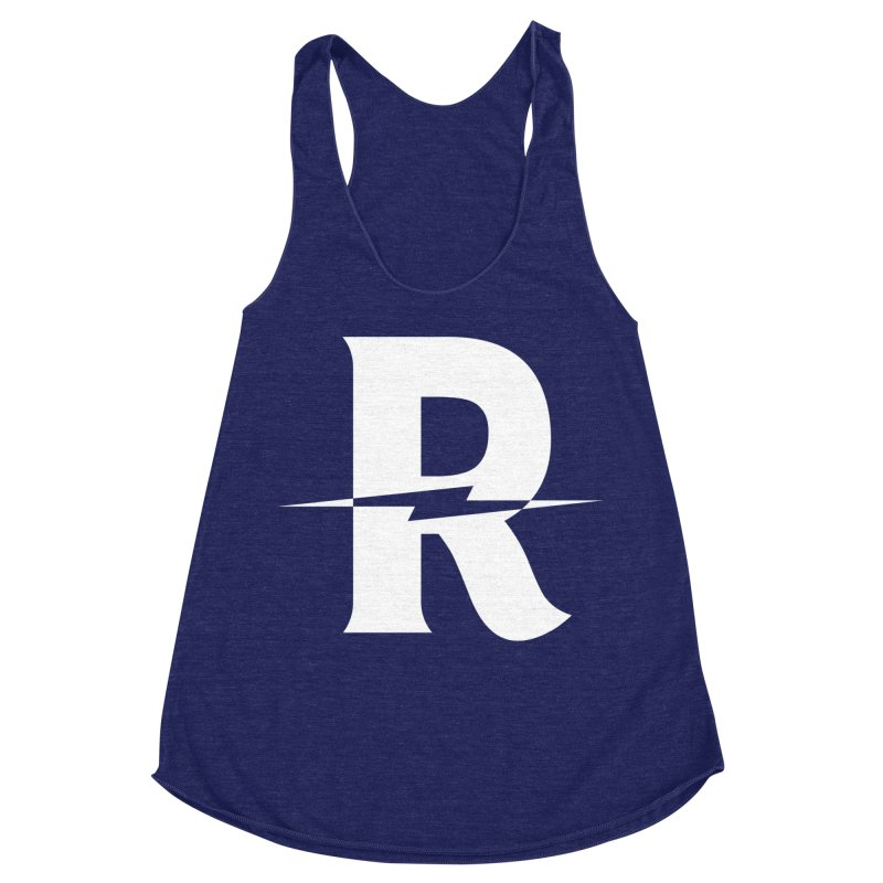 Revival Bright Bolt Women's Racerback Triblend Tank by Revival Brewing