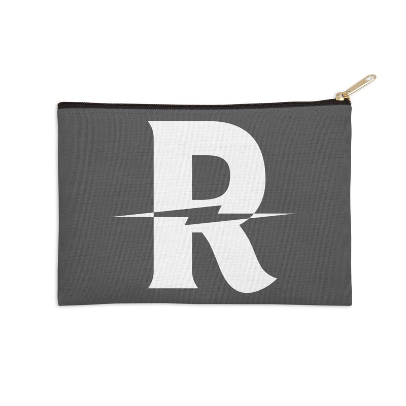 Revival Bright Bolt Accessories Zip Pouch by Revival Brewing