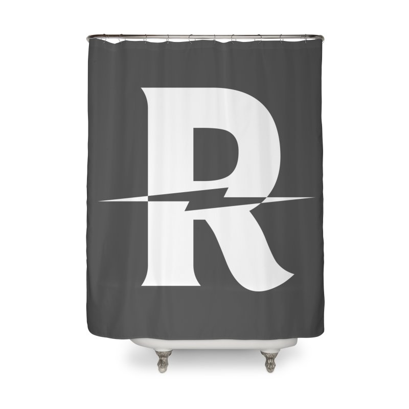 Revival Bright Bolt Home Shower Curtain by Revival Brewing