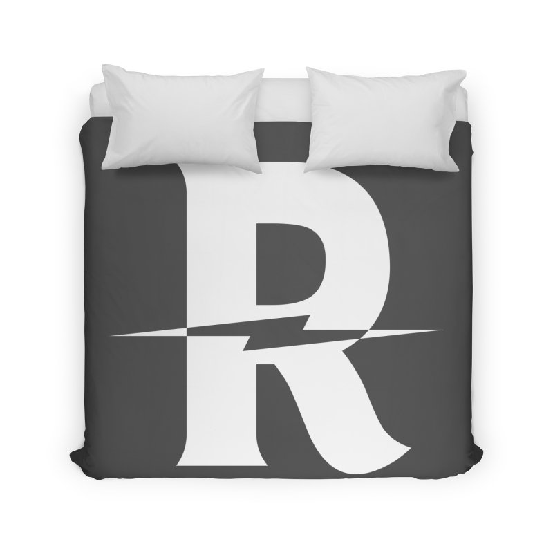 Revival Bright Bolt Home Duvet by Revival Brewing