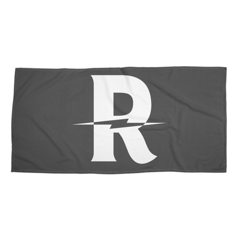 Revival Bright Bolt Accessories Beach Towel by Revival Brewing