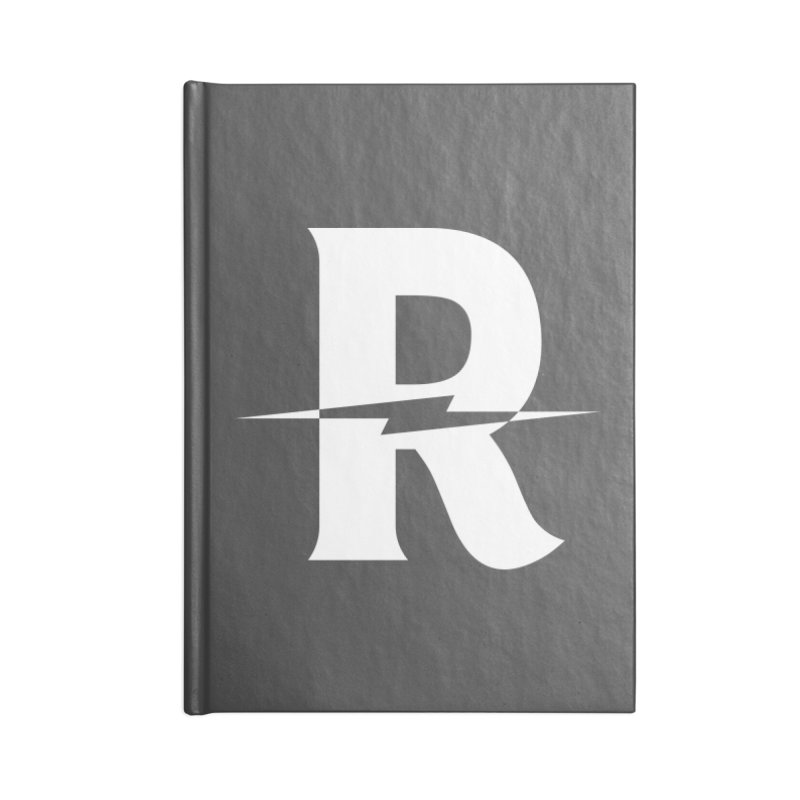 Revival Bright Bolt Accessories Lined Journal Notebook by Revival Brewing