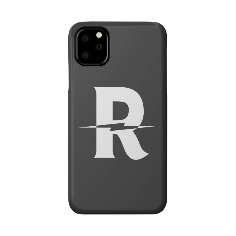 Revival Bright Bolt Accessories Phone Case by Revival Brewing