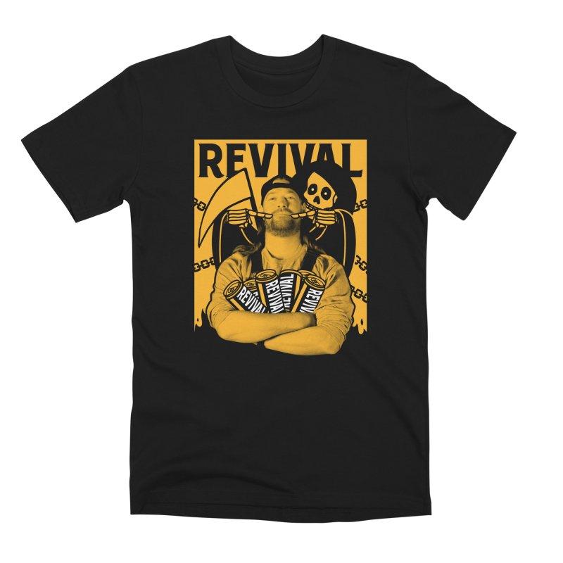 Smile Sine Men's Premium T-Shirt by Revival Brewing