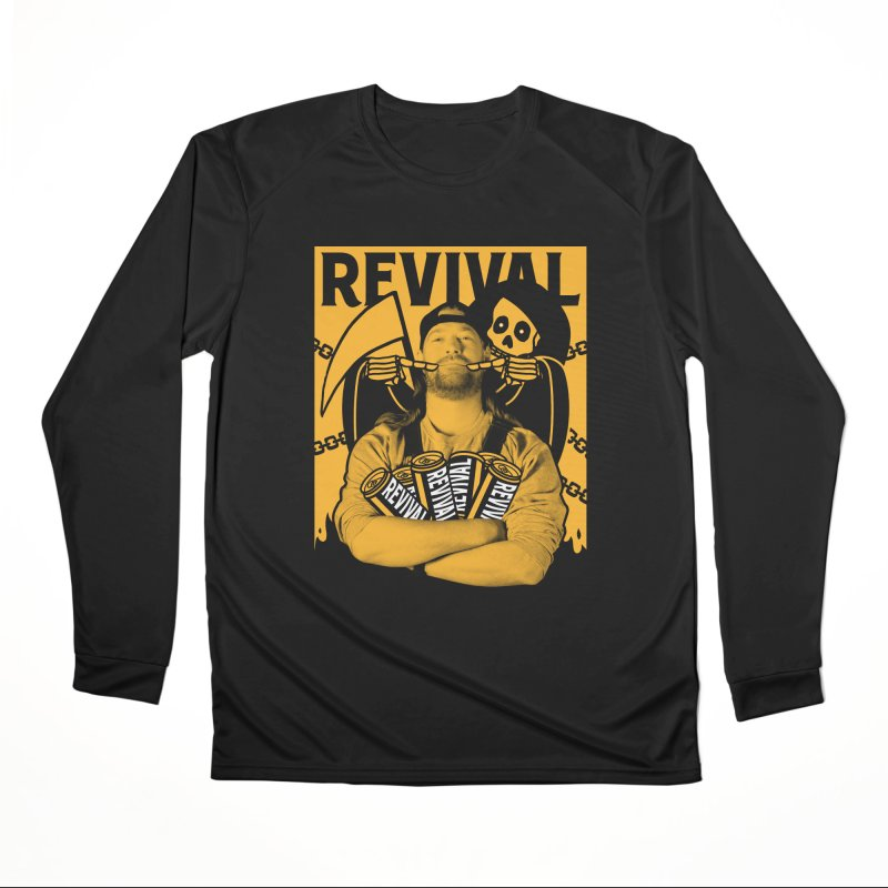 Smile Sine Men's Performance Longsleeve T-Shirt by Revival Brewing
