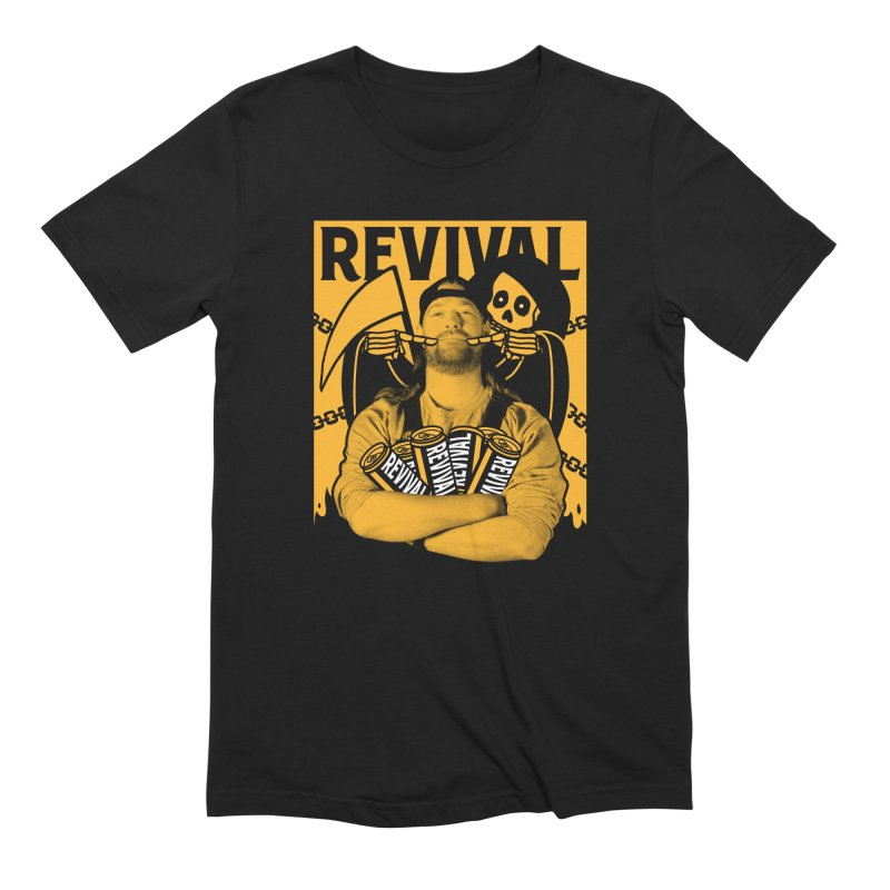 Smile Sine Men's Extra Soft T-Shirt by Revival Brewing
