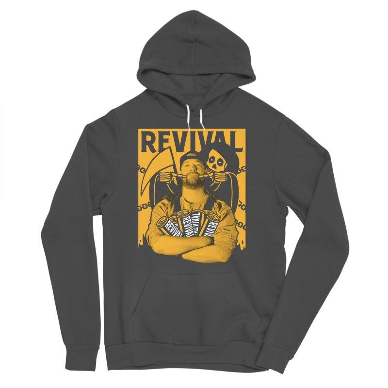 Smile Sine Women's Sponge Fleece Pullover Hoody by Revival Brewing