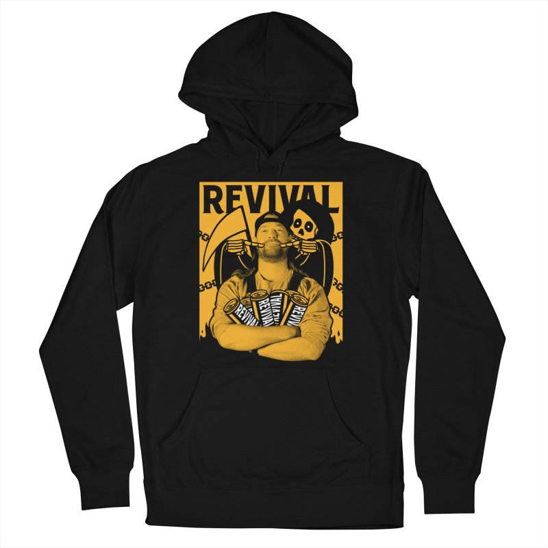 Smile Sine Men's French Terry Pullover Hoody by Revival Brewing