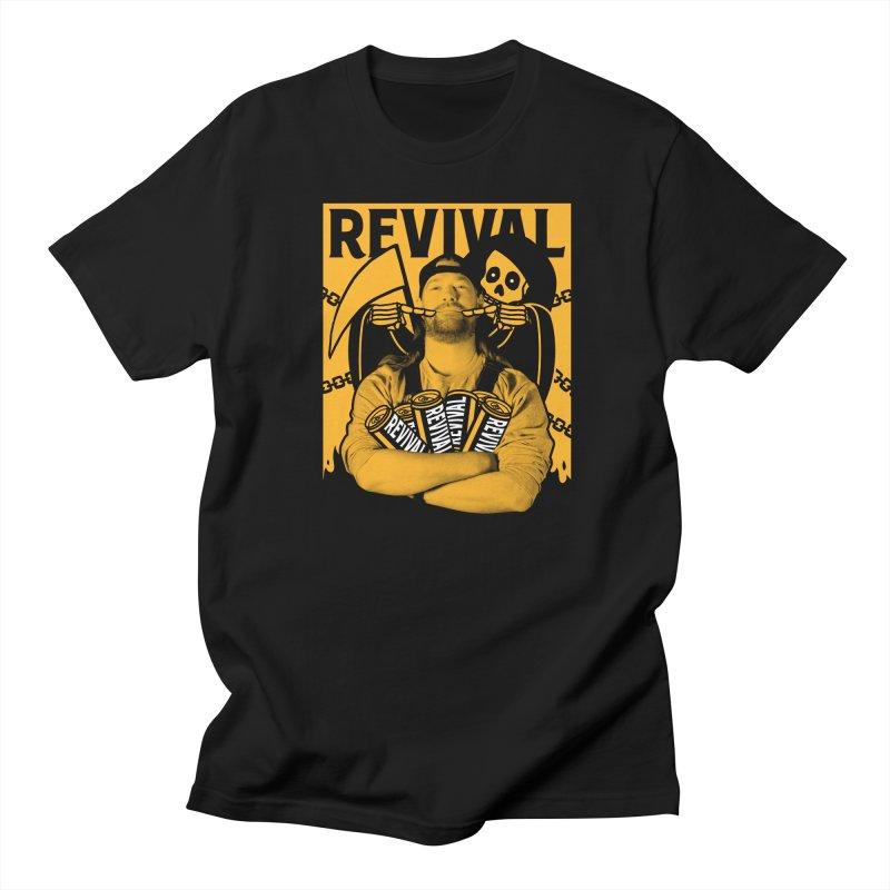 Smile Sine Men's T-Shirt by Revival Brewing