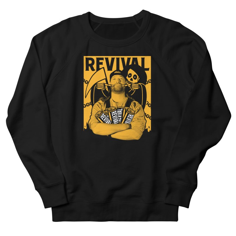Smile Sine Men's French Terry Sweatshirt by Revival Brewing
