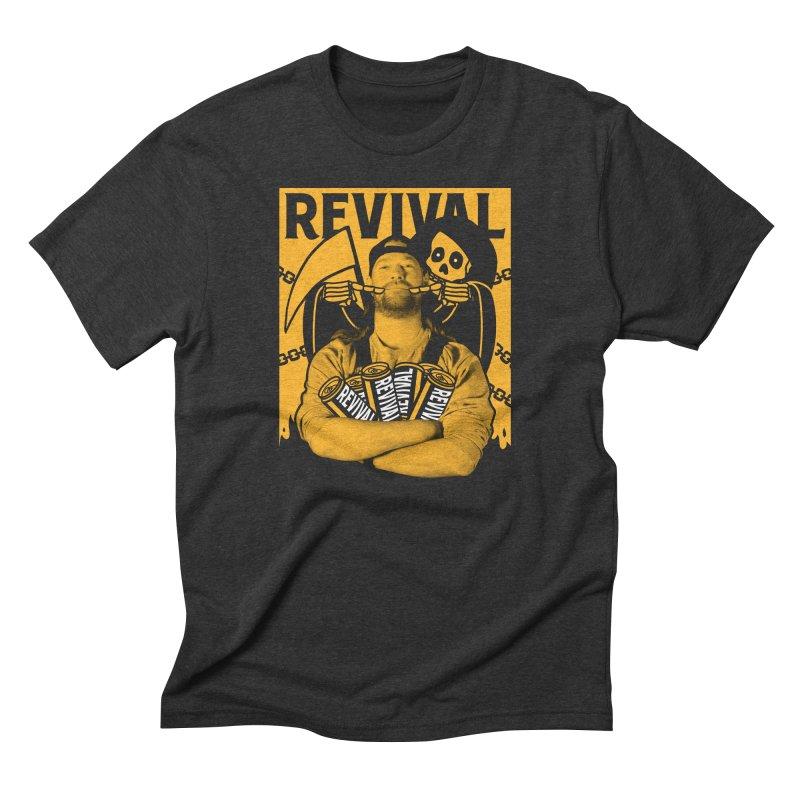 Smile Sine Men's Triblend T-Shirt by Revival Brewing