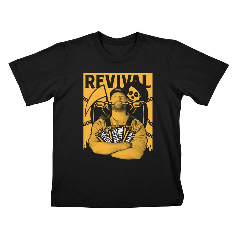 Smile Sine Kids T-Shirt by Revival Brewing