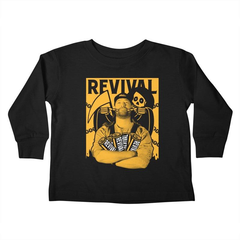 Smile Sine Kids Toddler Longsleeve T-Shirt by Revival Brewing