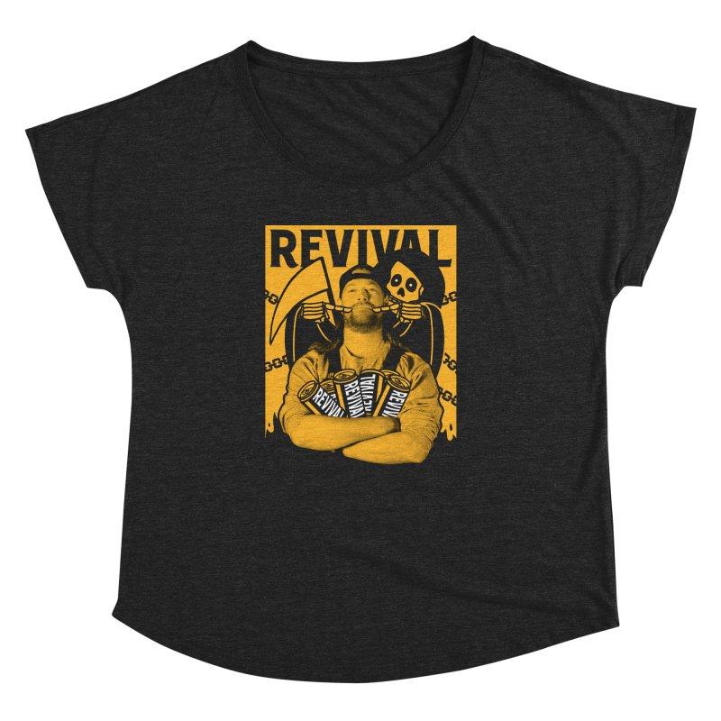 Smile Sine Women's Dolman Scoop Neck by Revival Brewing