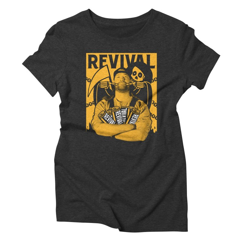Smile Sine Women's Triblend T-Shirt by Revival Brewing