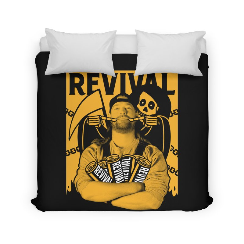 Smile Sine Home Duvet by Revival Brewing