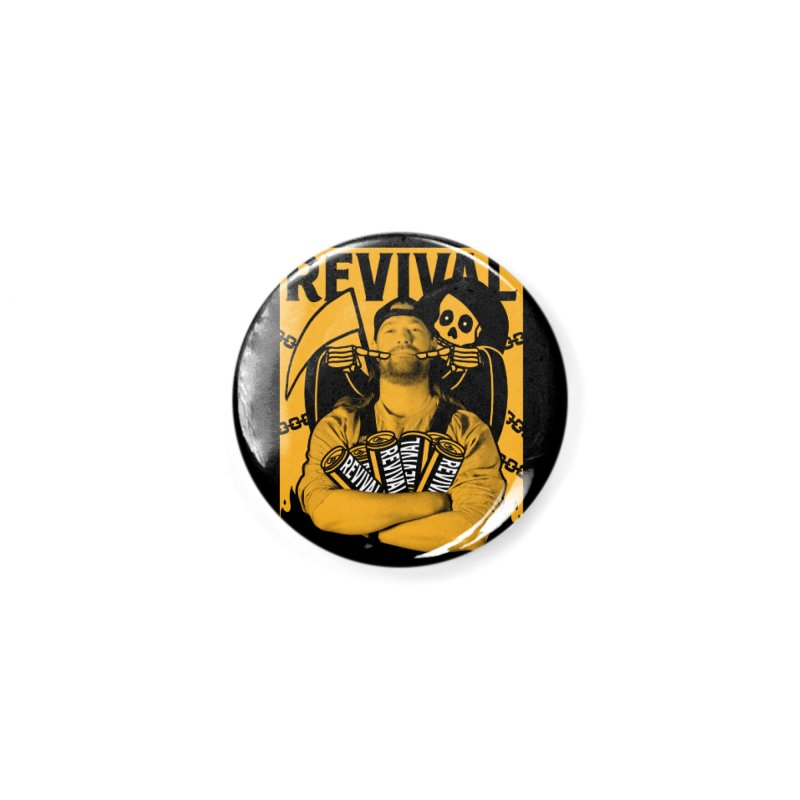 Smile Sine Accessories Button by Revival Brewing