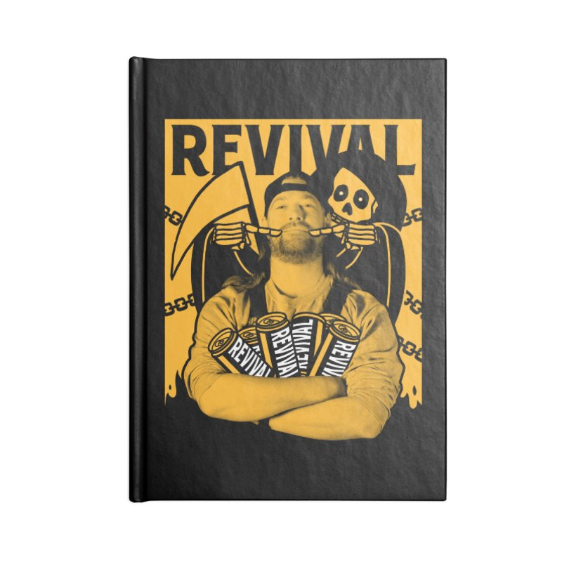 Smile Sine Accessories Lined Journal Notebook by Revival Brewing