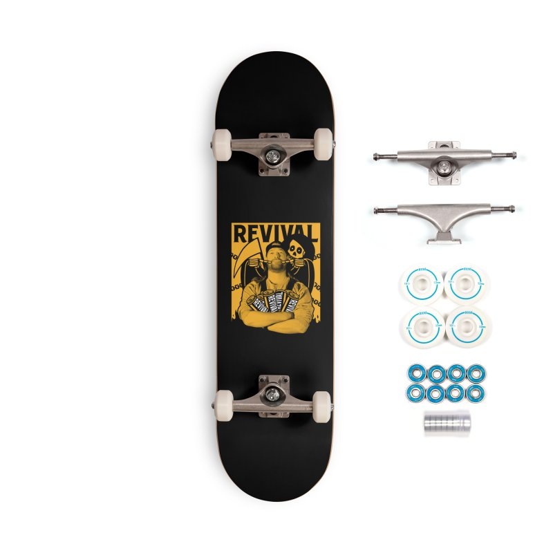 Smile Sine Accessories Complete - Basic Skateboard by Revival Brewing